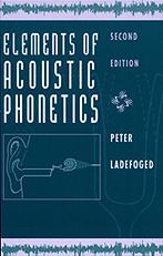 Elements of Acoustic Phonetics